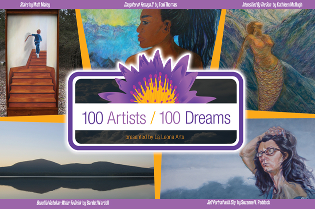 100 Artists 100 Dreams Logo