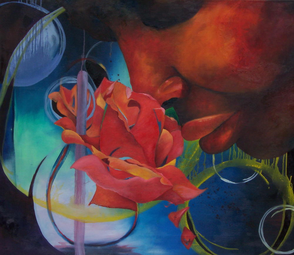 Essence  Oil on Canvas 36 x 42 in.