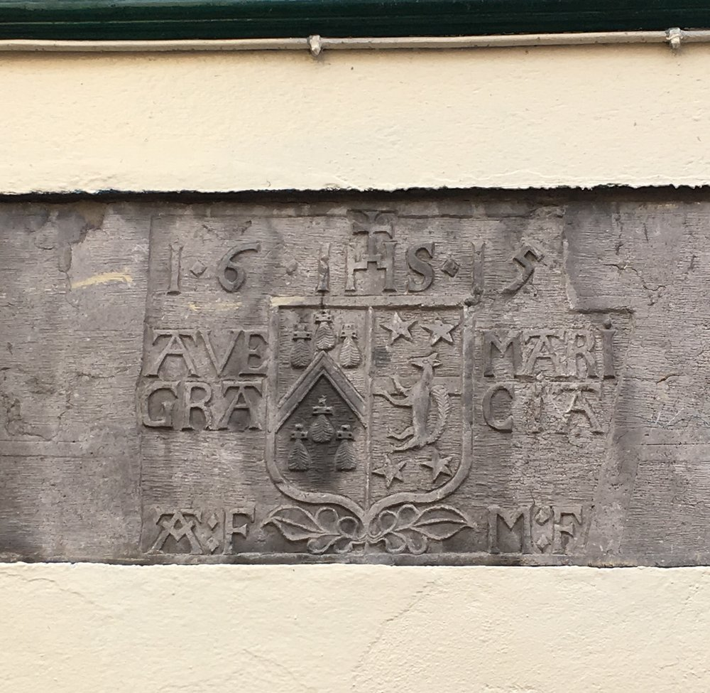 Marriage seal above doorwary, Galway