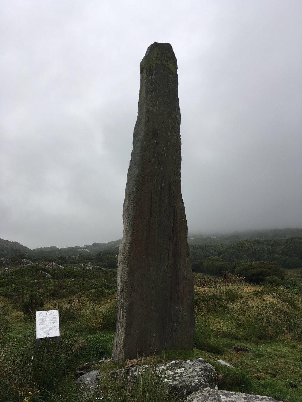 Ballycrovane (Ogham Stone)