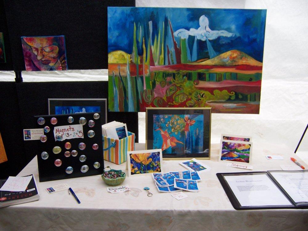 La Leona Women Painters' Guild Set Up 1.JPG