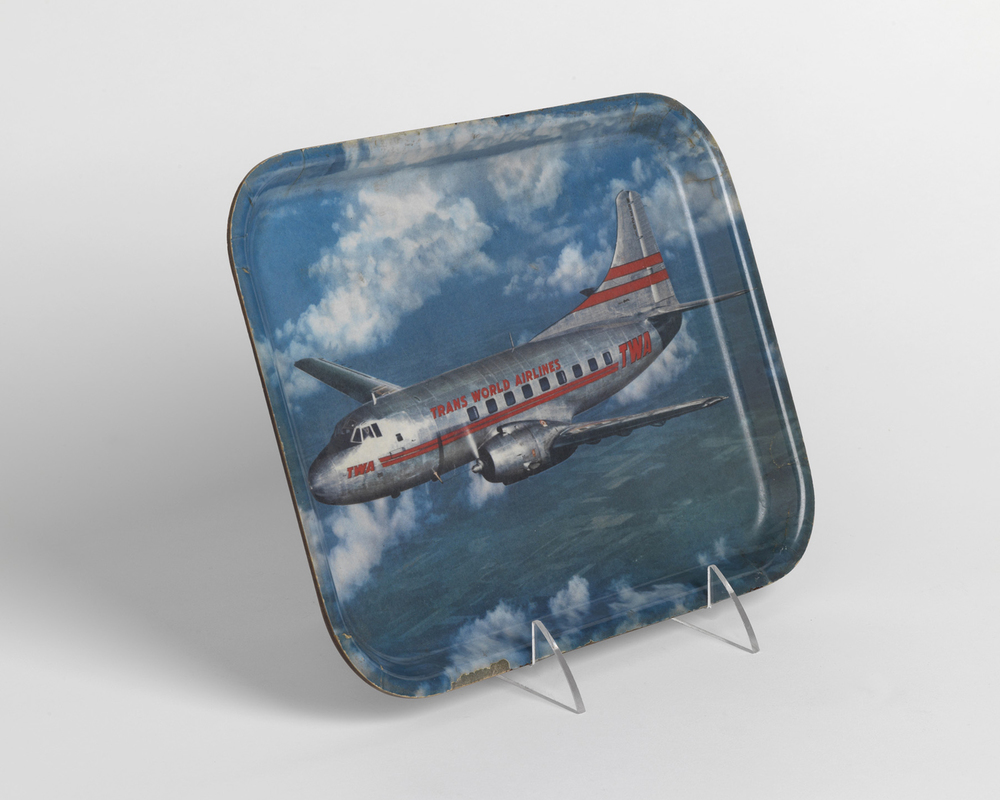 TWA cocktail tray.  Circa 1968