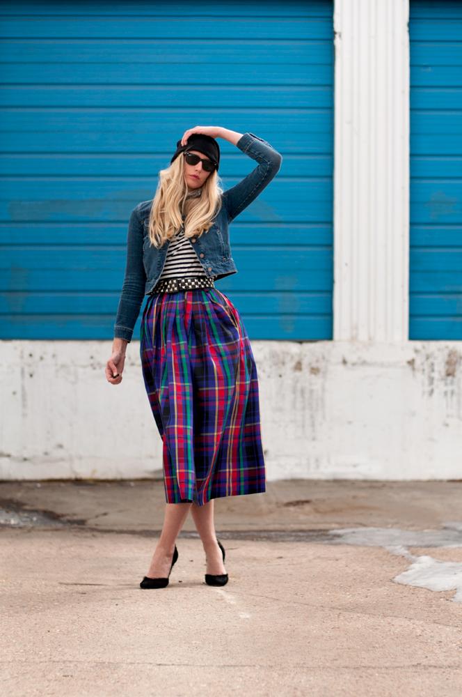 Thrift Store Skirt