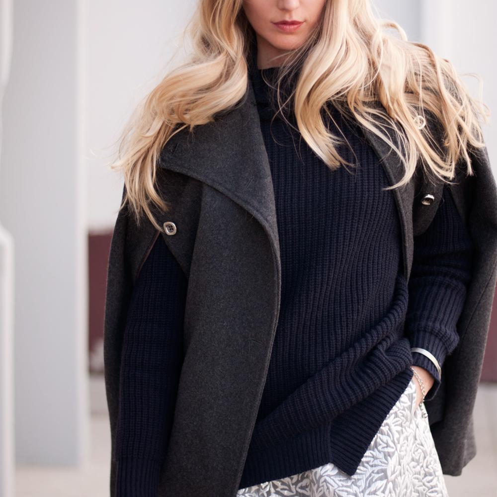 Asymmetrical Zara Sweater