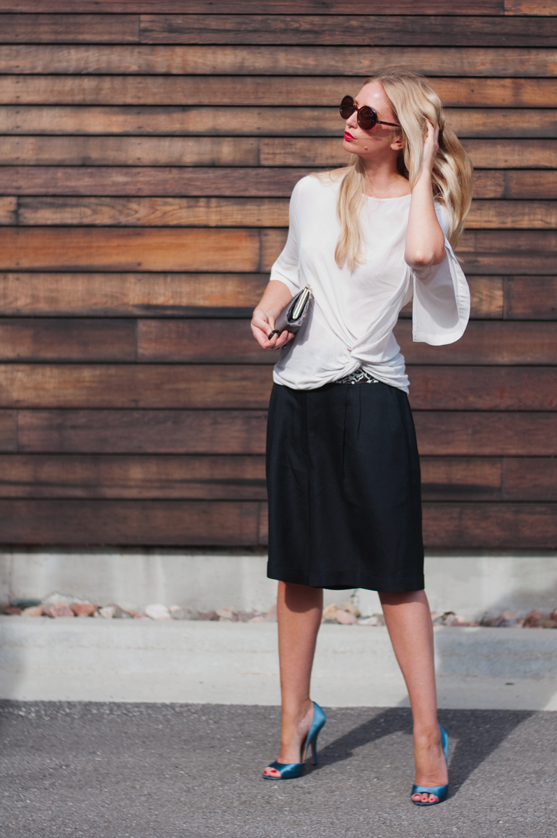 Fashion Blogger Culottes