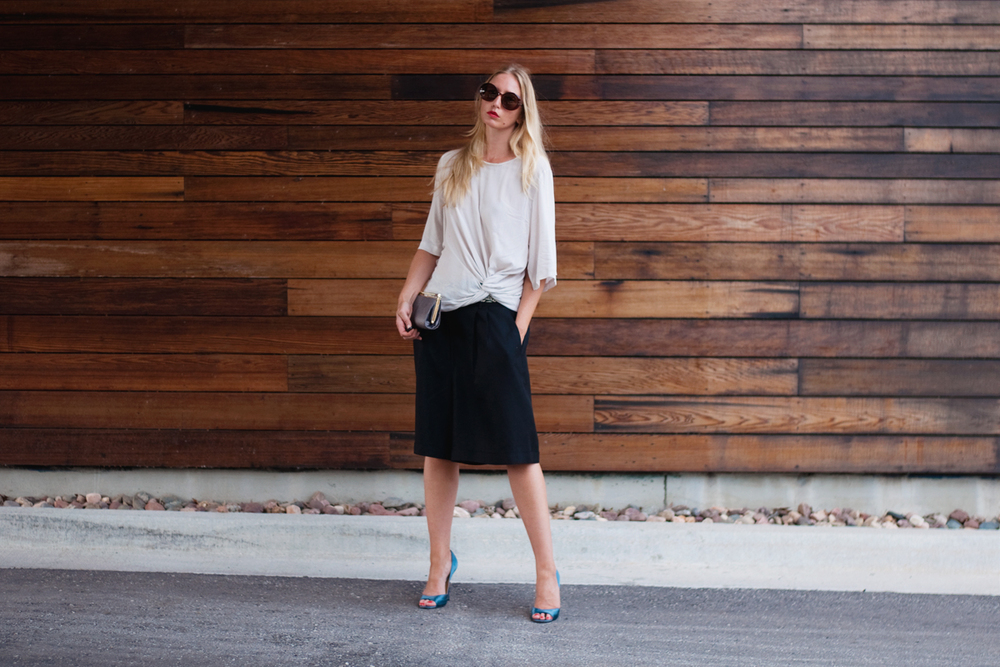 Black Blogger Culottes