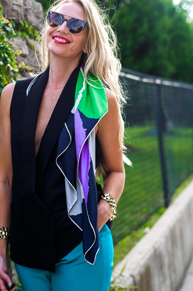 Women's Tuxedo Waistcoat, BCBG