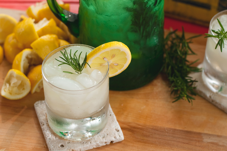 Rosemary Infused Lemonade