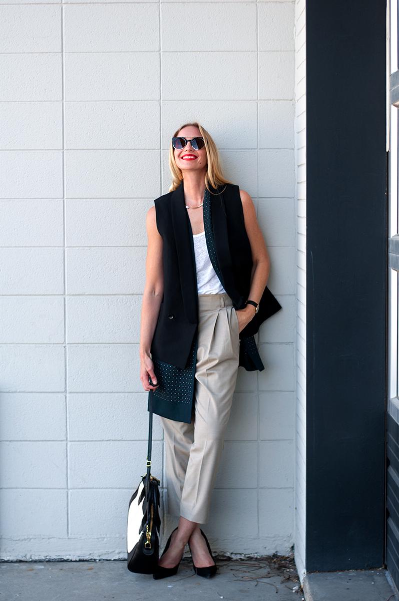 Spring 2015 Waistcoat Blogger Style
