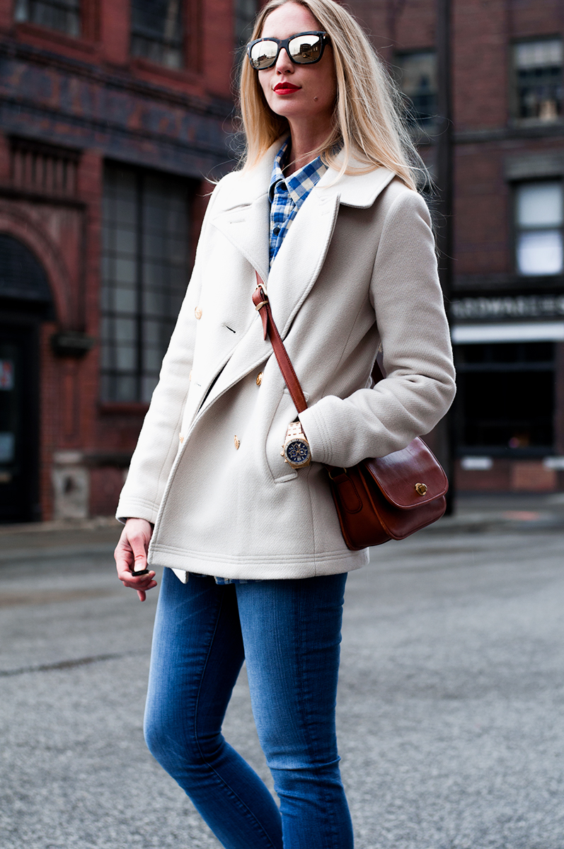 J Crew Majesty Peacoat