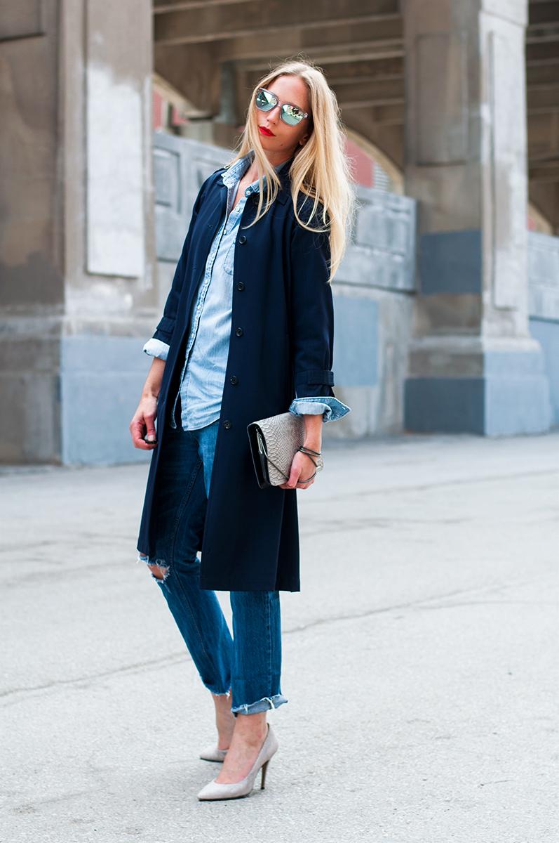 Zara Denim on Denim, Spring 2015 Blogger Style