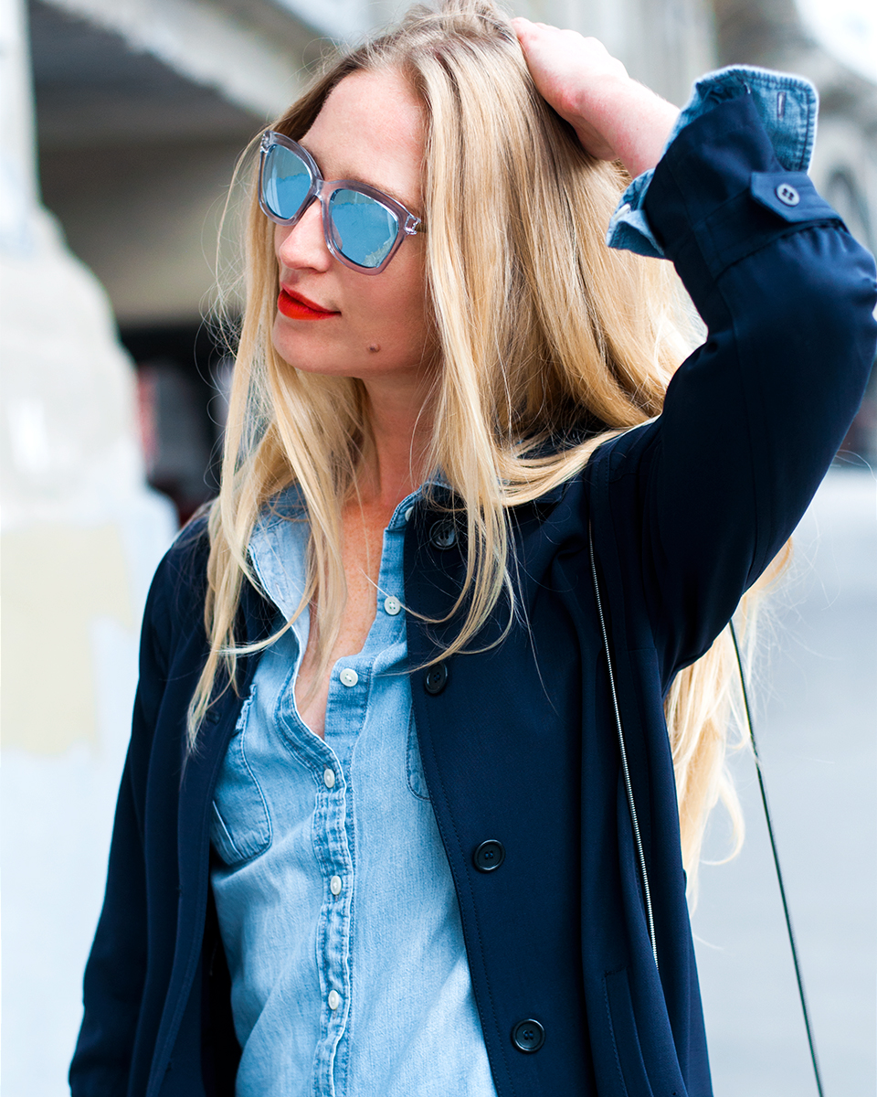 Mirrored Sunglasses, Spring 2015 Blogger Style
