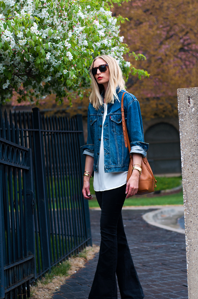Free People Pull On Kick Flare Jean,. Blogger Style