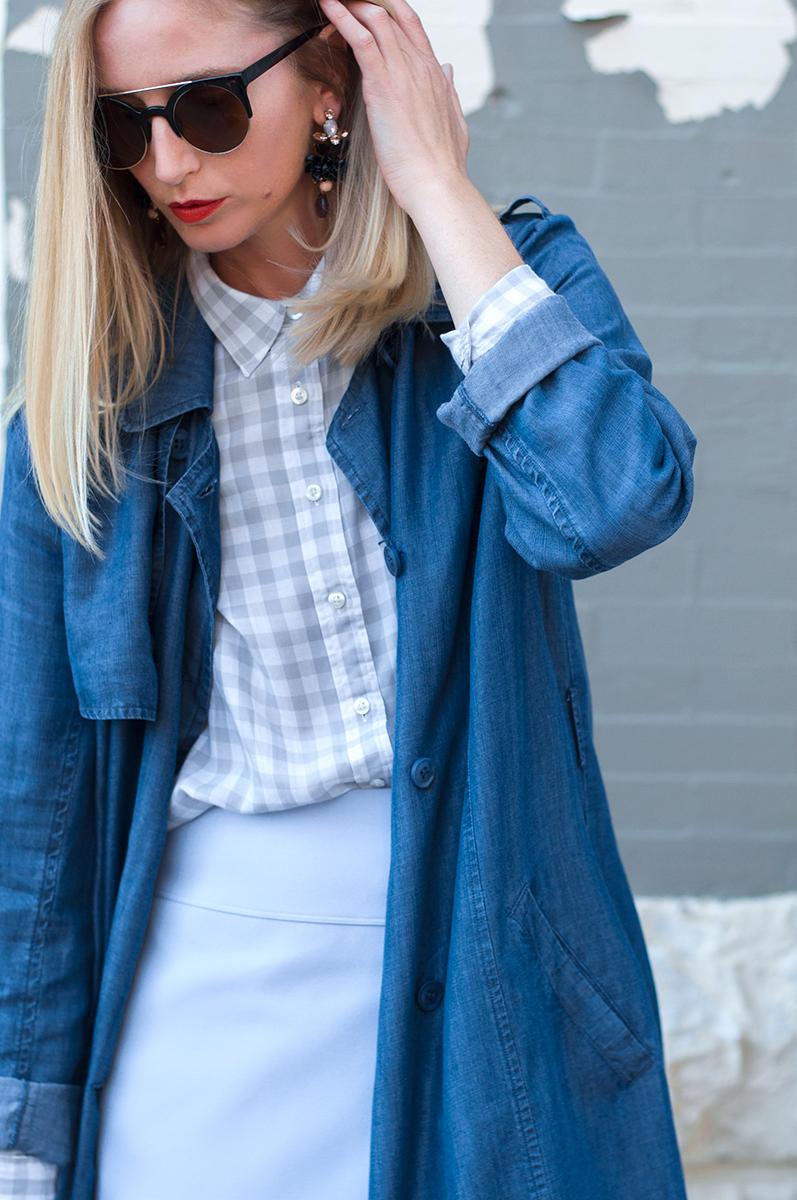 J Crew Style Blogger, Gingam Trend Spring 2015