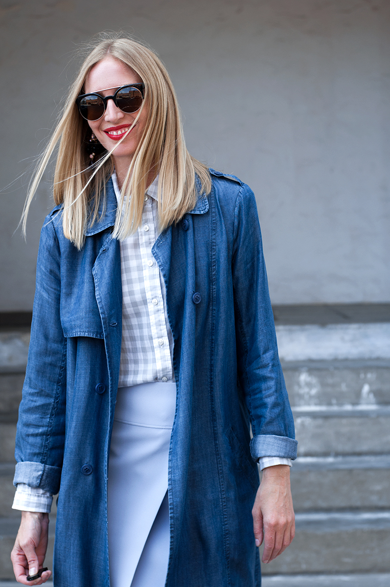 J Crew Style Blogger, Gingham Trend Spring 2015