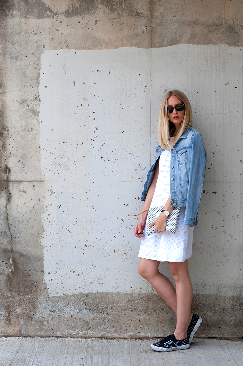 Eyelet Dress Outfit Inspiration Spring 2015