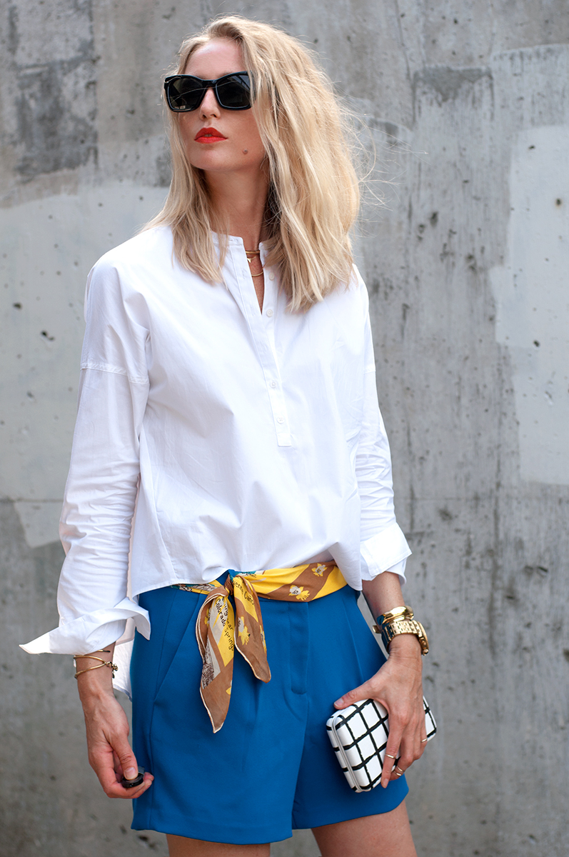 Ann Taylor LOFT Hi-Lo Softened Shirt