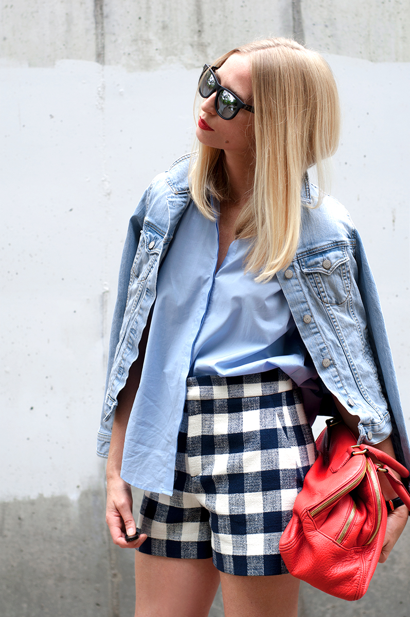 Gingham Outfit Inspiration, Blogger Style 2015