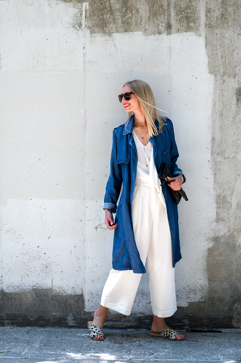 Spring 2015 Blogger Style, White Gaucho Outfit Inspiration
