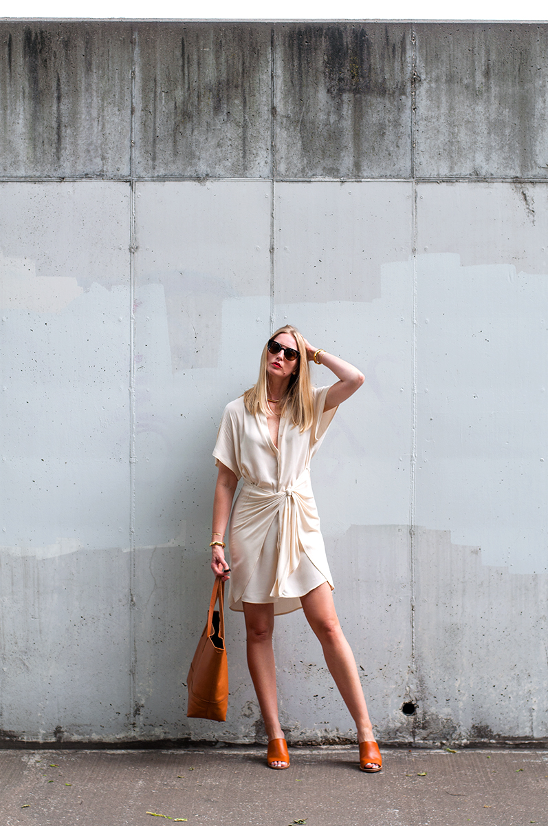Forever 21 Wrap-Tie Shirt Dress