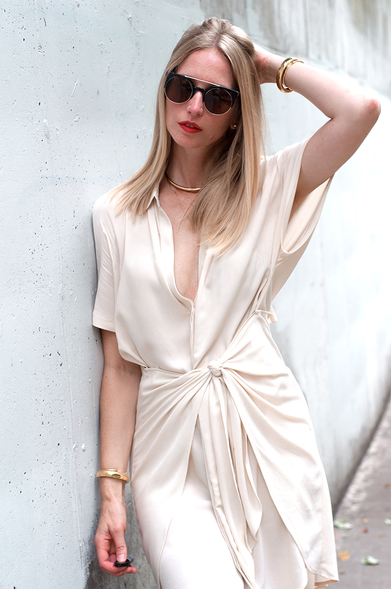 Tie Front Shirt Dress Forage Fashion
