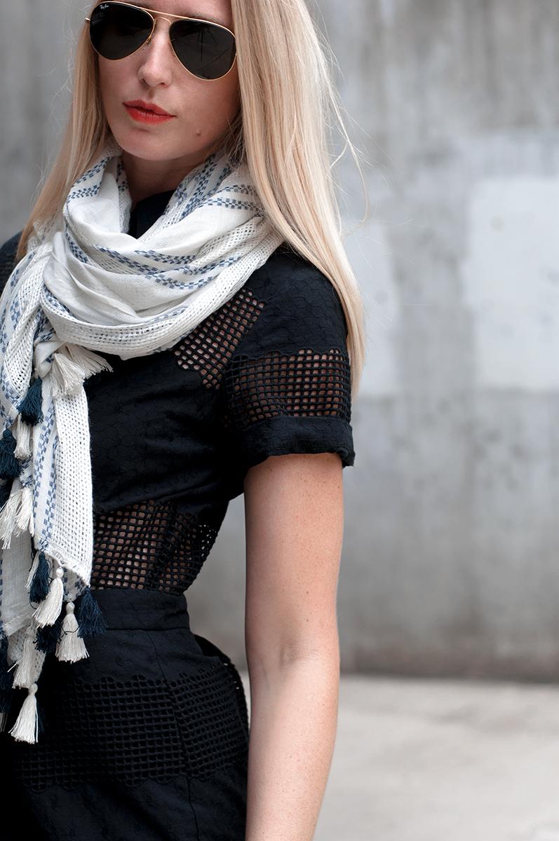 Asos Broderie Shirt Dress