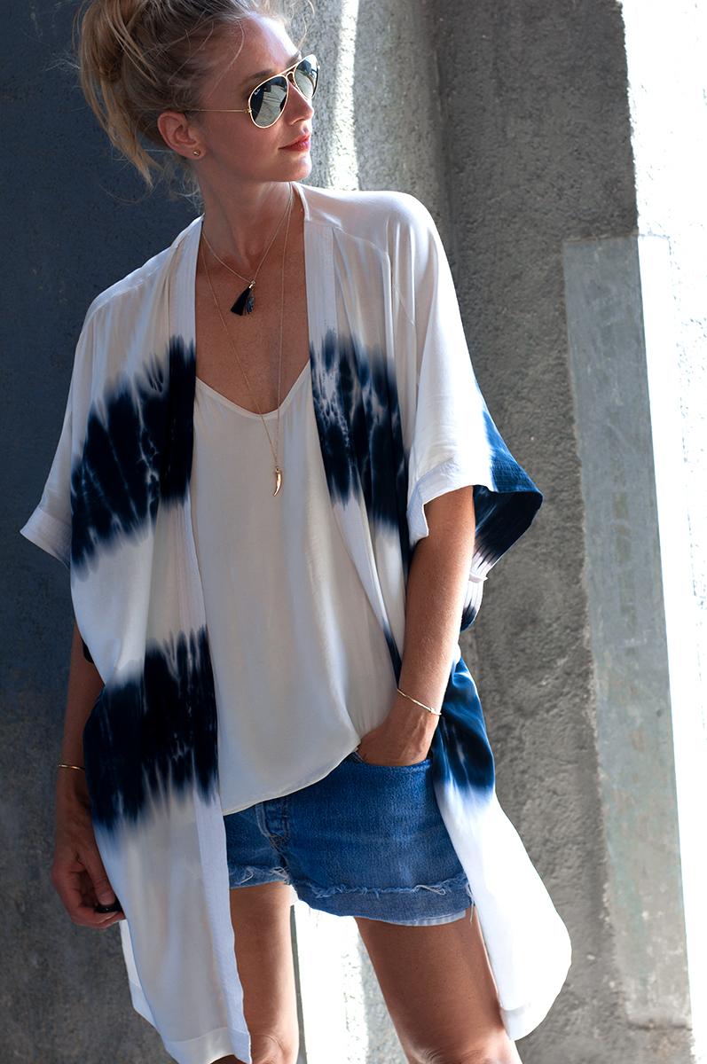 Forever 21 Tie-Dye Kimono