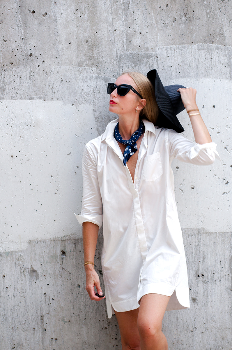 Madewell Courtyard Shirtdress