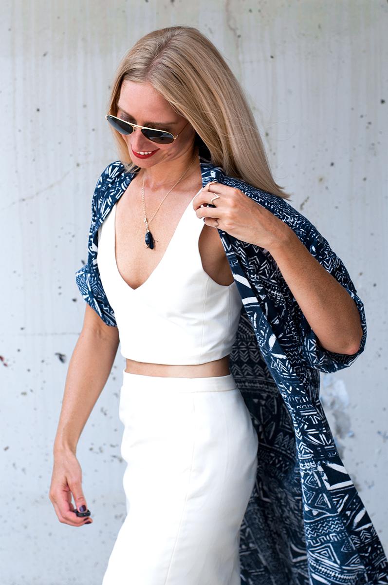 Beach Kimono Outfit Inspiration