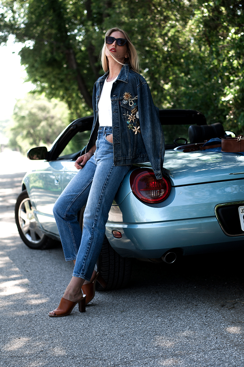 Vintage Levis, Thelma and Louise Style