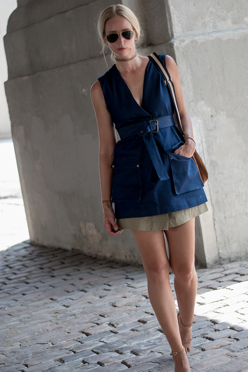 Need Supply Stelen Beatrice Denim Dress
