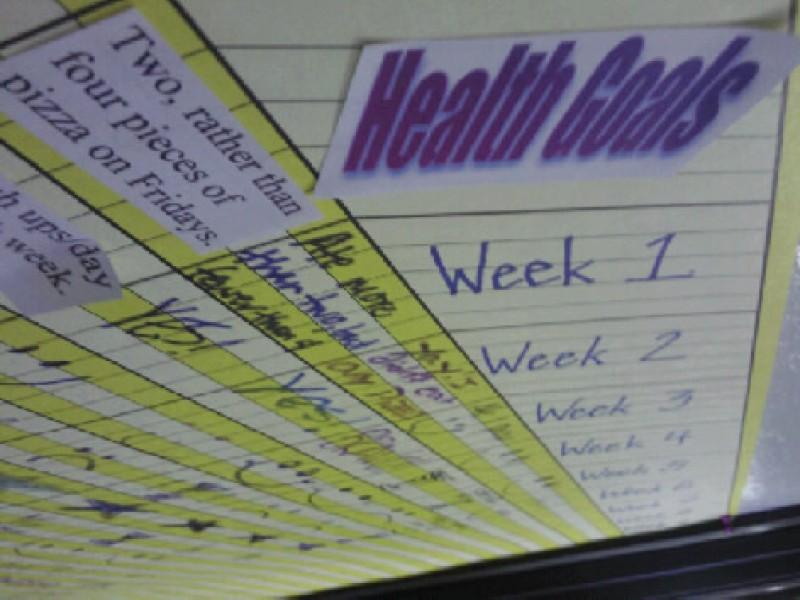 Health Goals!