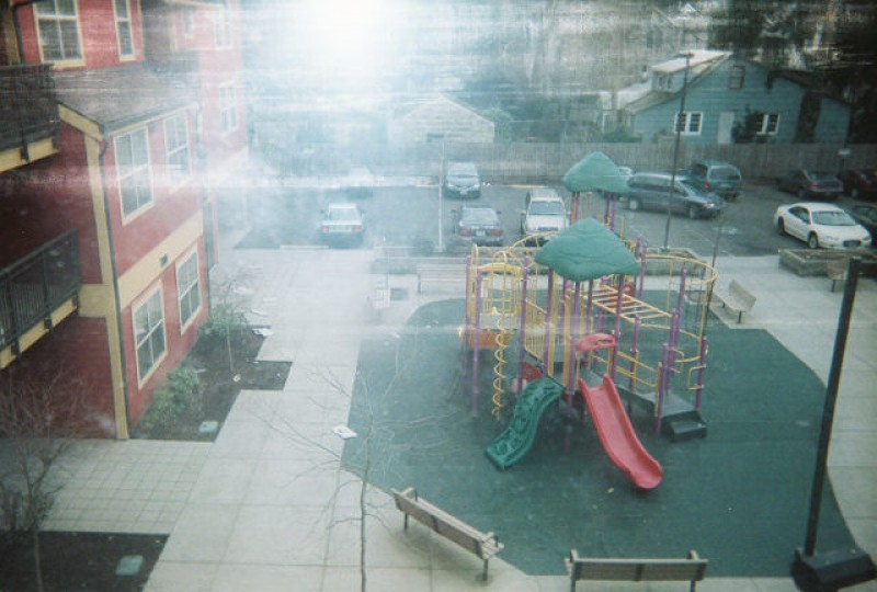 The lonely playground