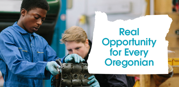 """Real Opportunity for Every Oregonian."""