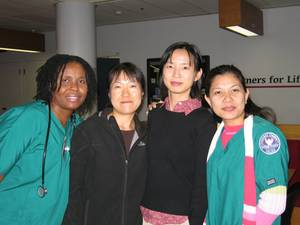 "GRADUATES OF NWHF'S ""WORKFORCE IMPROVEMENT FOR IMMIGRANT NURSES"" (WIIN) PROGRAM."