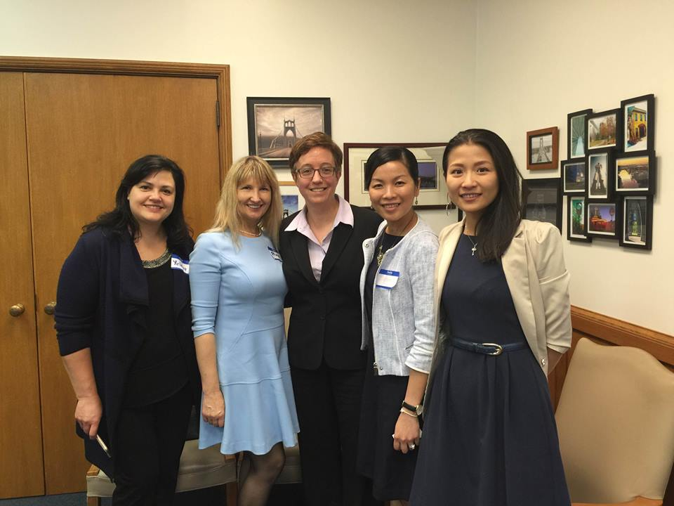 irco staff with tina kotek