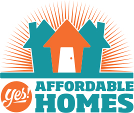 Yes! Affordable Homes logo
