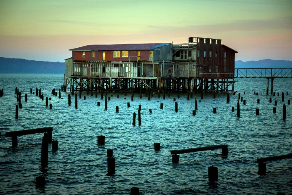 An old cannery on Astoria's waterfront.