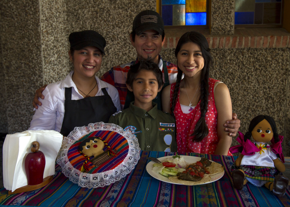 The family behind Tikal Latin Cuisine showcases their Guatemalan food.