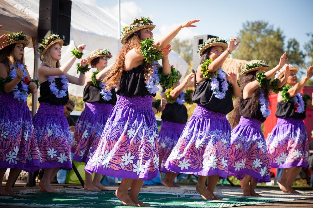 Dancers perform at the Micronesian Islander Community Fall 2017 Celebration in Salem, Oregon.