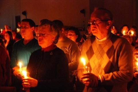 Christmas Eve Candlelight Service 2012