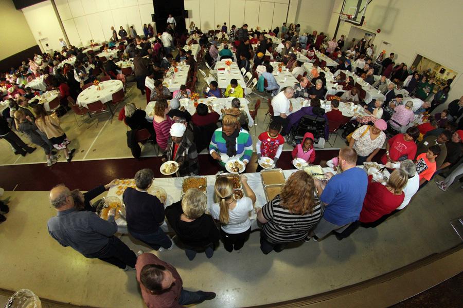Thanksgiving Dinner 2013