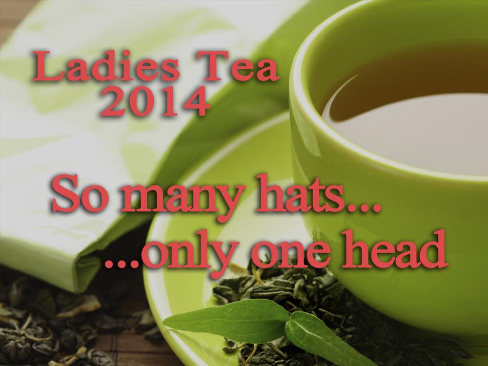 Ladies Tea 2014