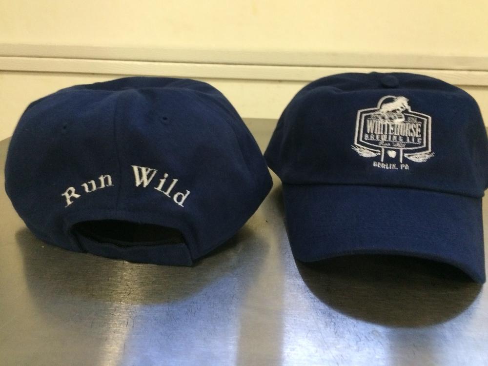 Whitehorse Brushed Cotton Twill Logo Hat- $15.00