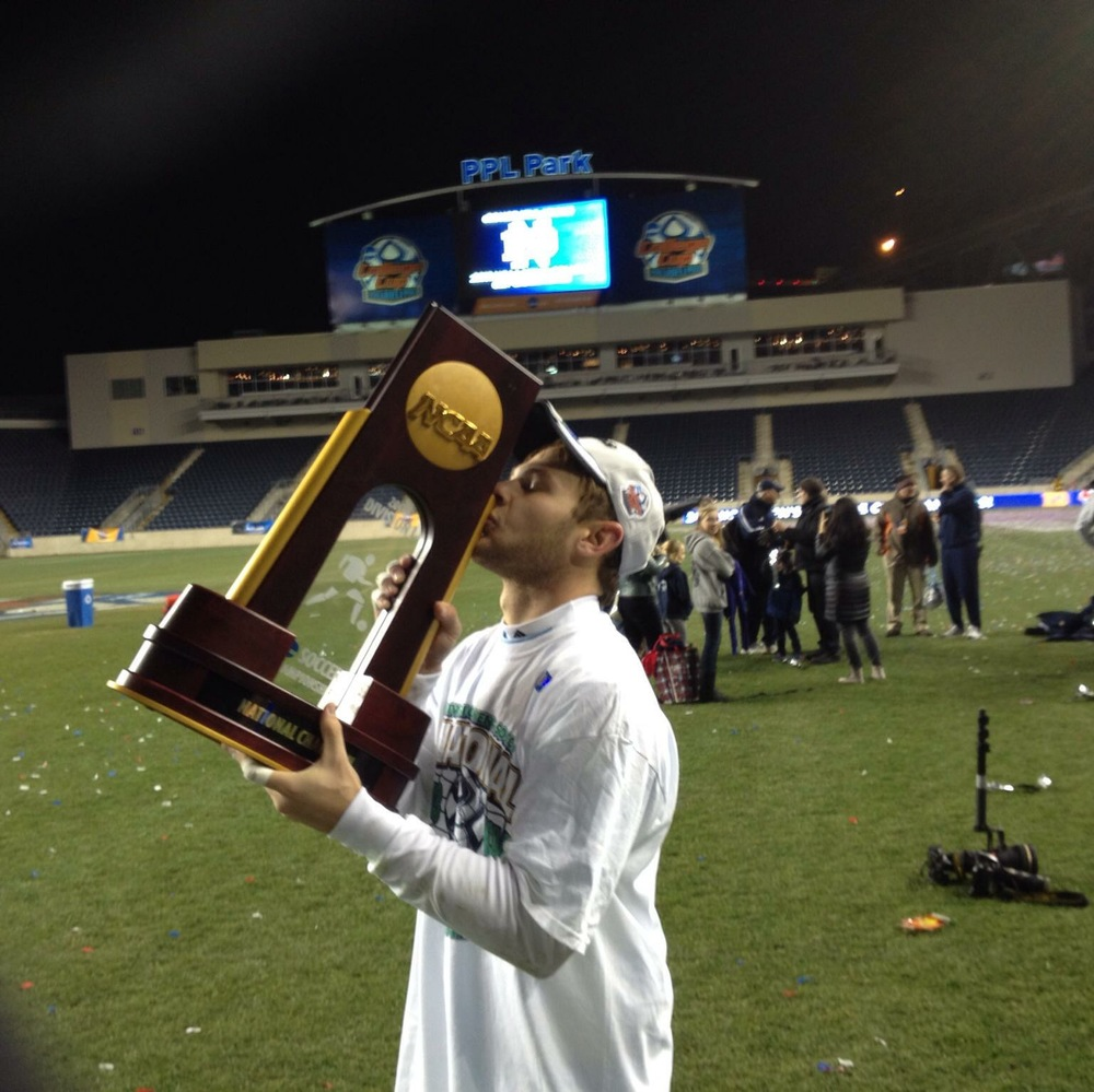 2013, after winning the National Championship 2-1 over the University of Maryland