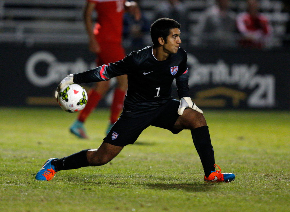 Kevin Silva, USYNT goalkeeper and current starter for UCLA