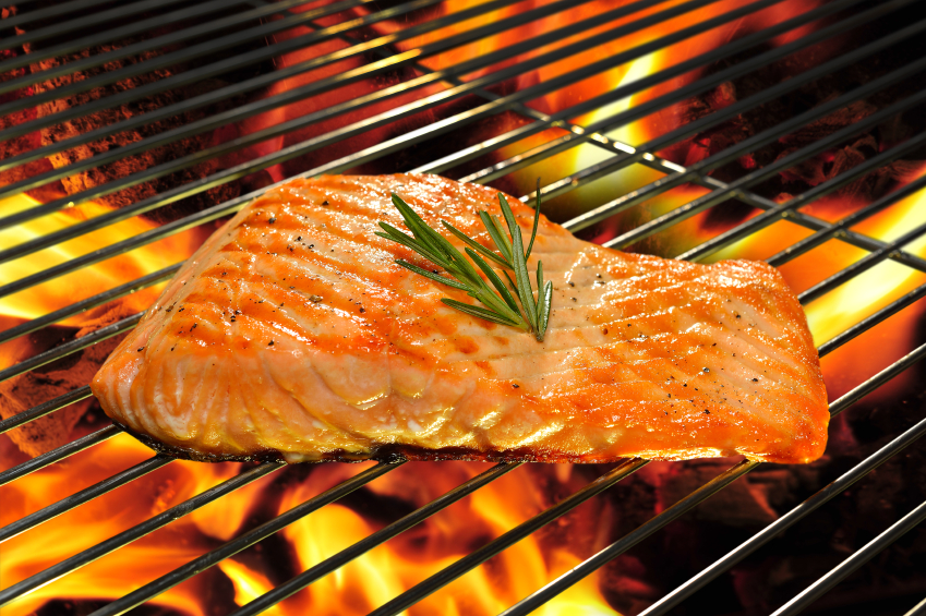 Trick-or-treaters will receive grilled wild-caught salmon from the Obamas