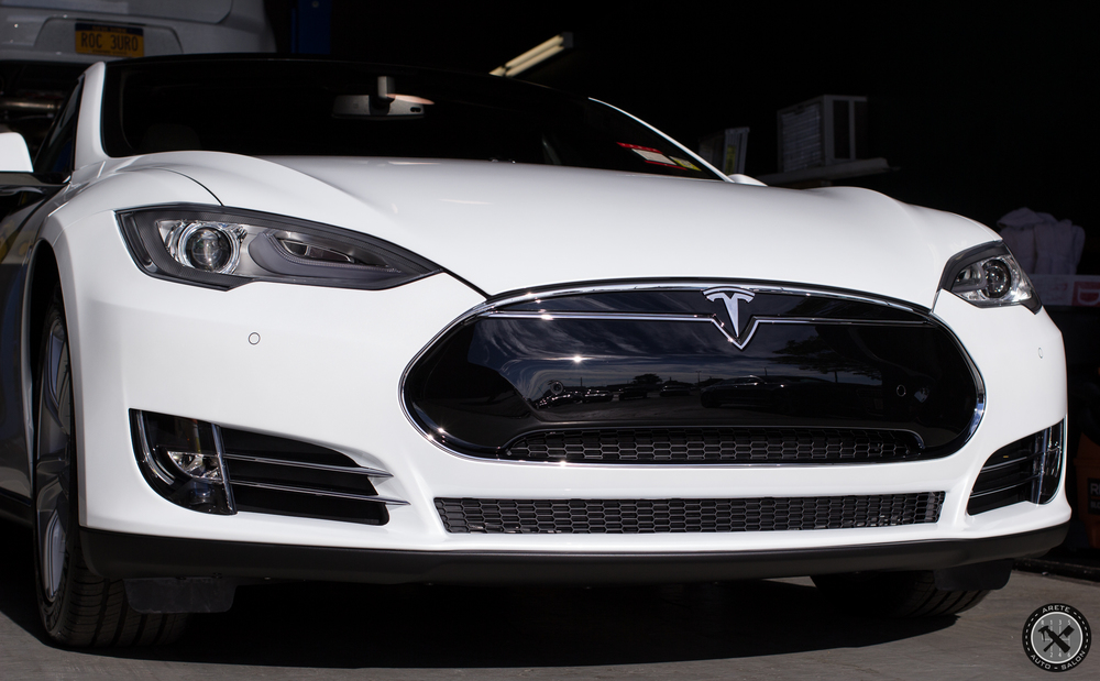 Tesla Model S: Paint Correction & Coating Process — Areté Auto Salon