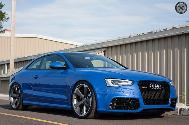 Nogaro Blue Audi Rs5 Cquartz Finest Ppf Amp Performance