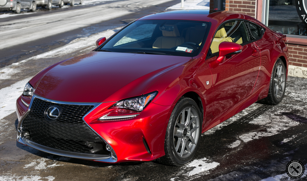 This Lexus RC signed up for our Wash Club for winter 2016!